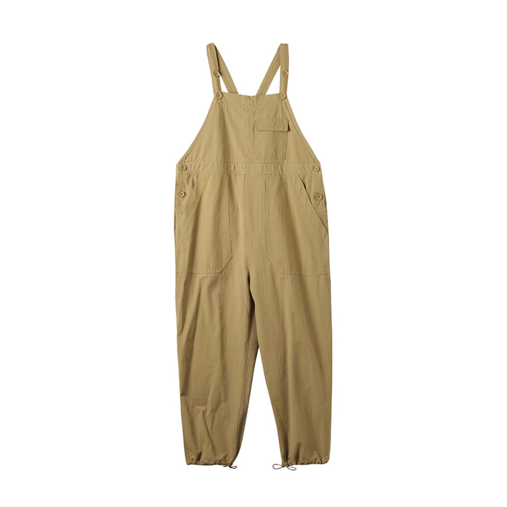 【WOMEN'S】ワーク カーゴ ジャンプスーツ オーバーオール サロペット【3colors】WN-565
