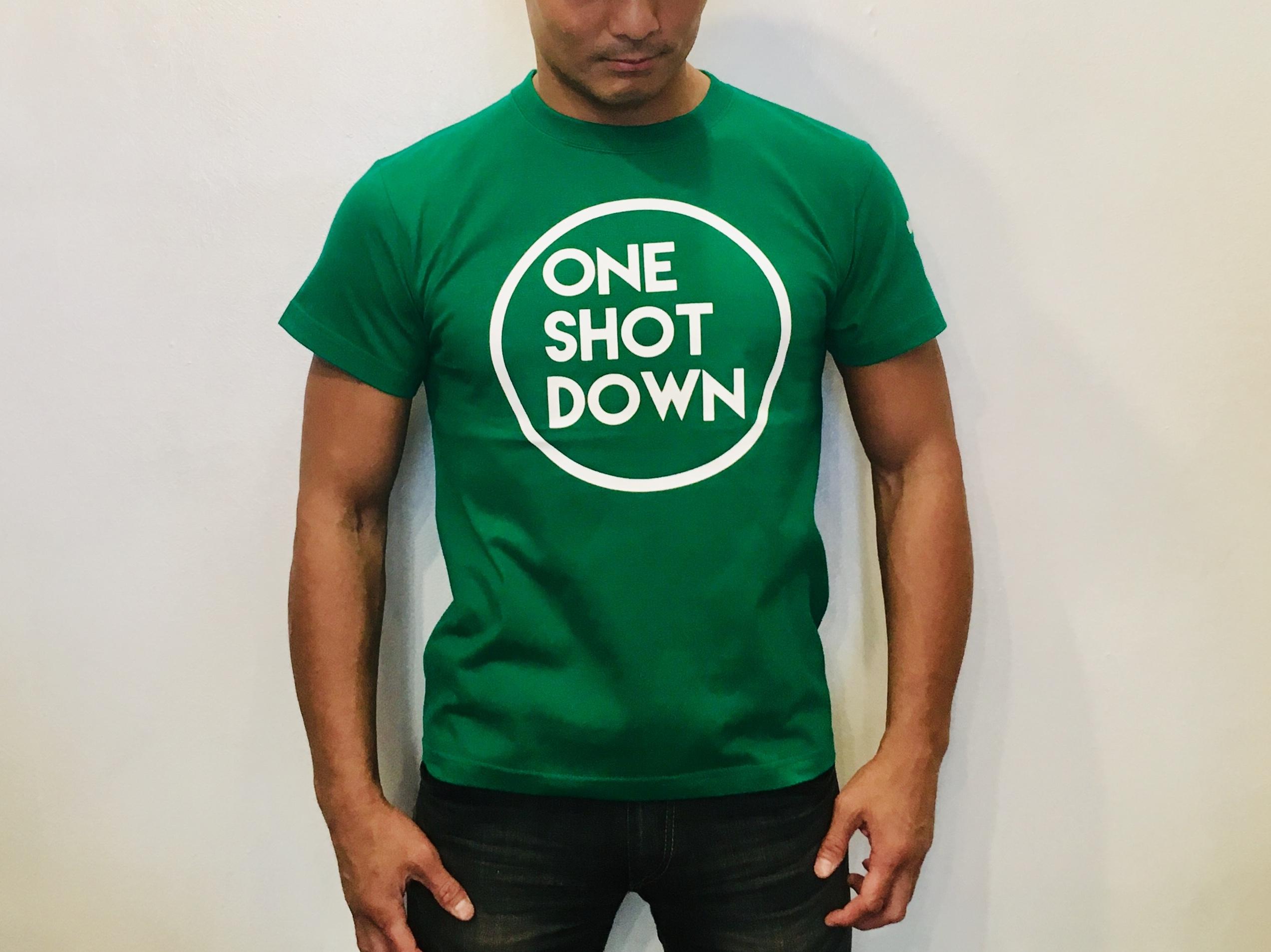ONESHOTDOWN サークルロゴTシャツ(カラー) - 画像2