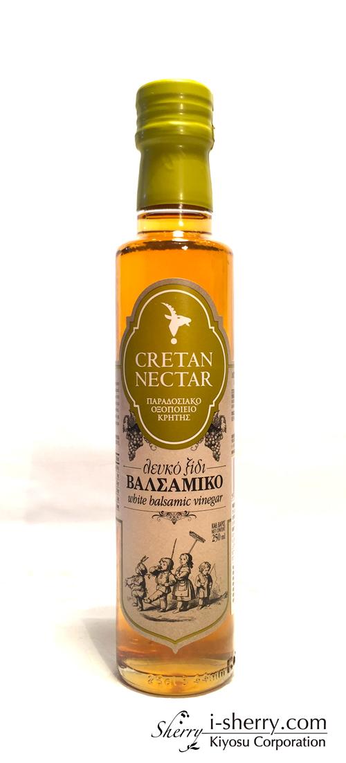 【白バルサミコ酢 CRETAN NECTAR】 VIOS バルサミコ醸造酢 白 250ml