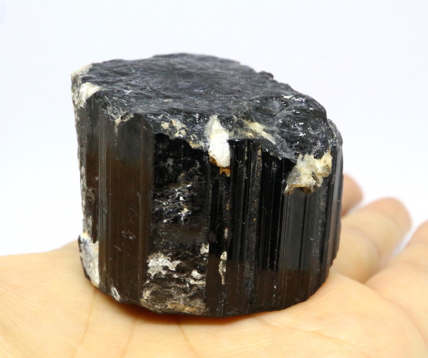 自主採掘!カリフォルニア産ブラックトルマリン 154,4g T074