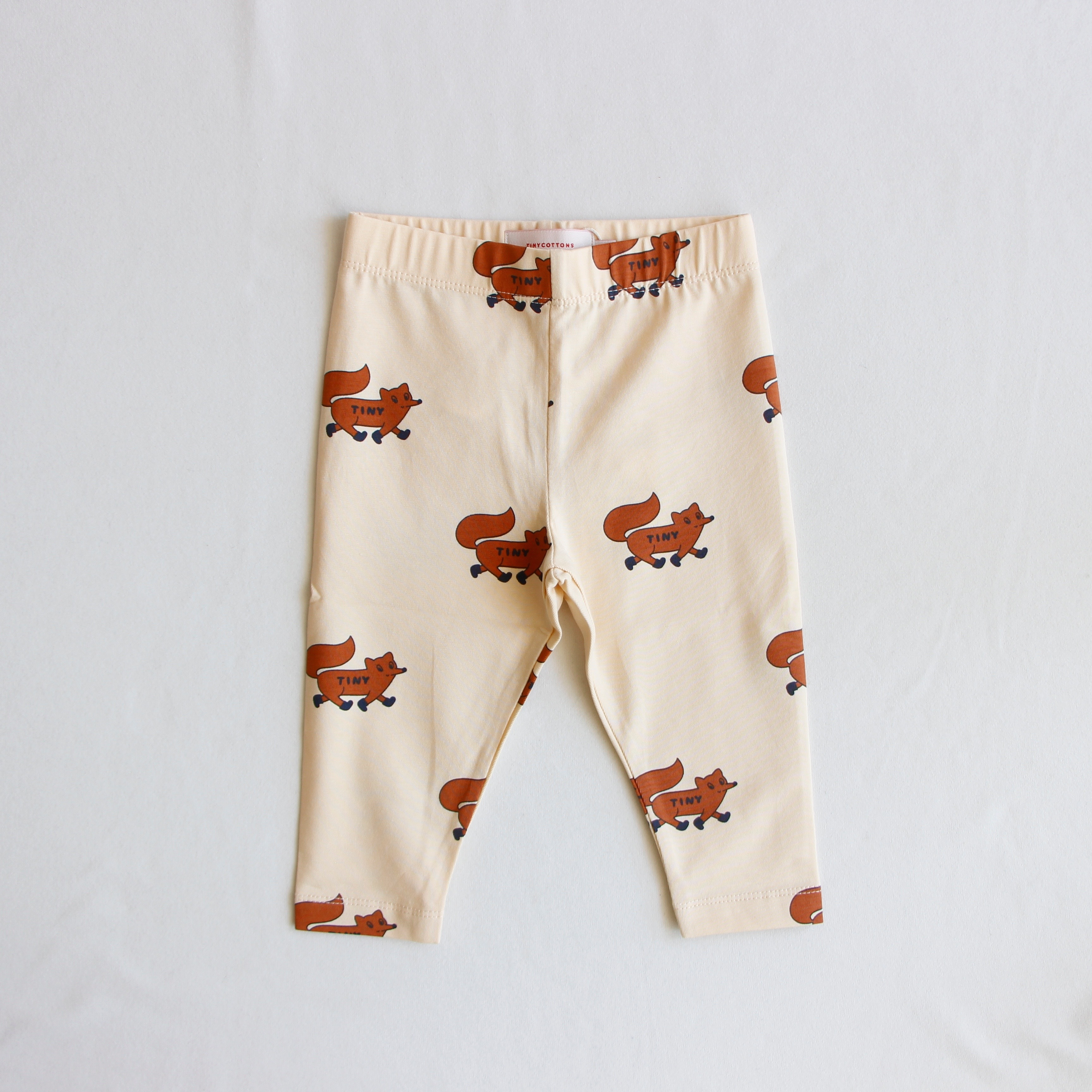 《TINYCOTTONS 2020AW》FOXES PANT / cream × brown