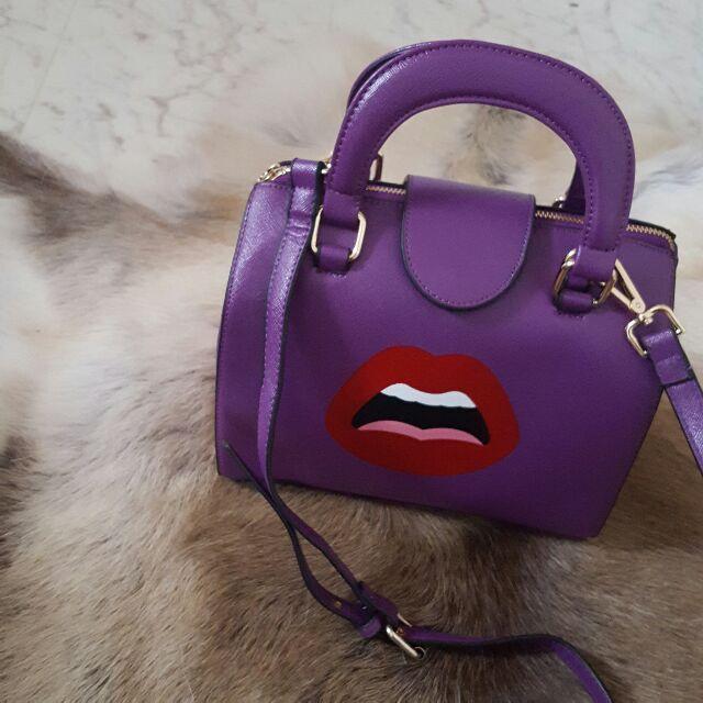リッププリントバッグ