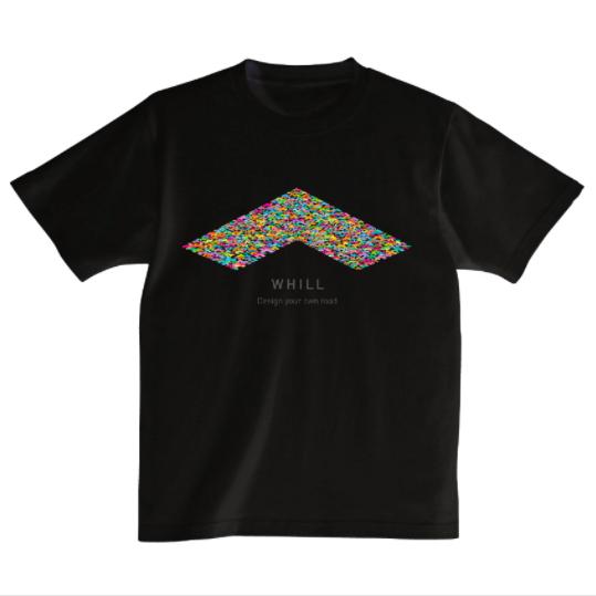 WHILLTシャツ(ブラック)