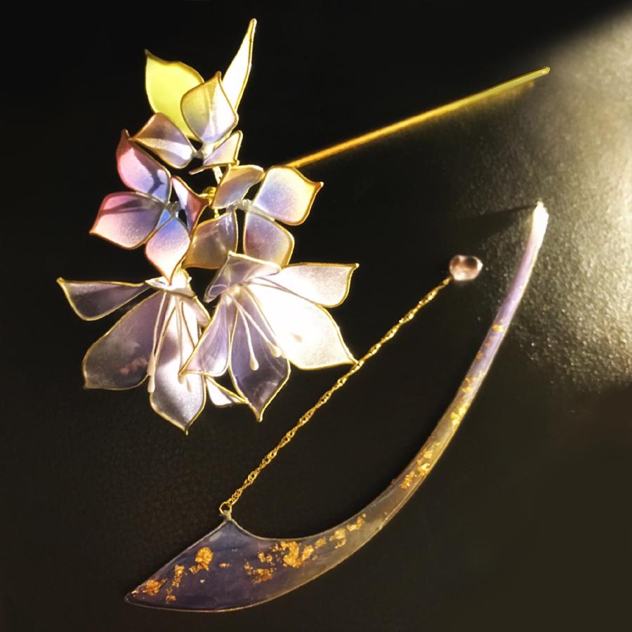 【絢爛】ー桔梗 Chinese bellflower