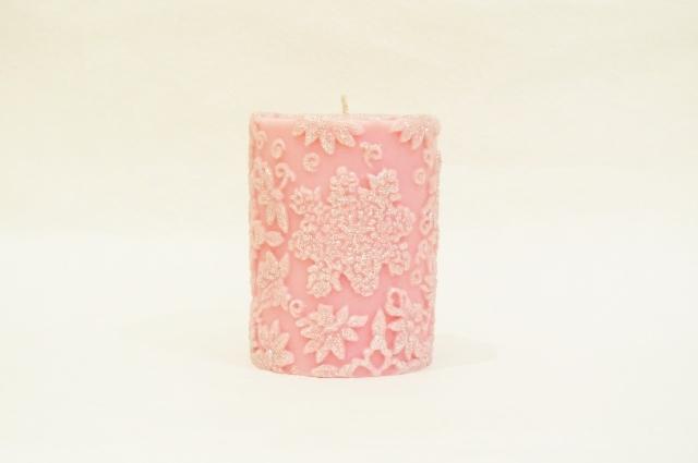 スノーフレークフラワーPiller/Pink