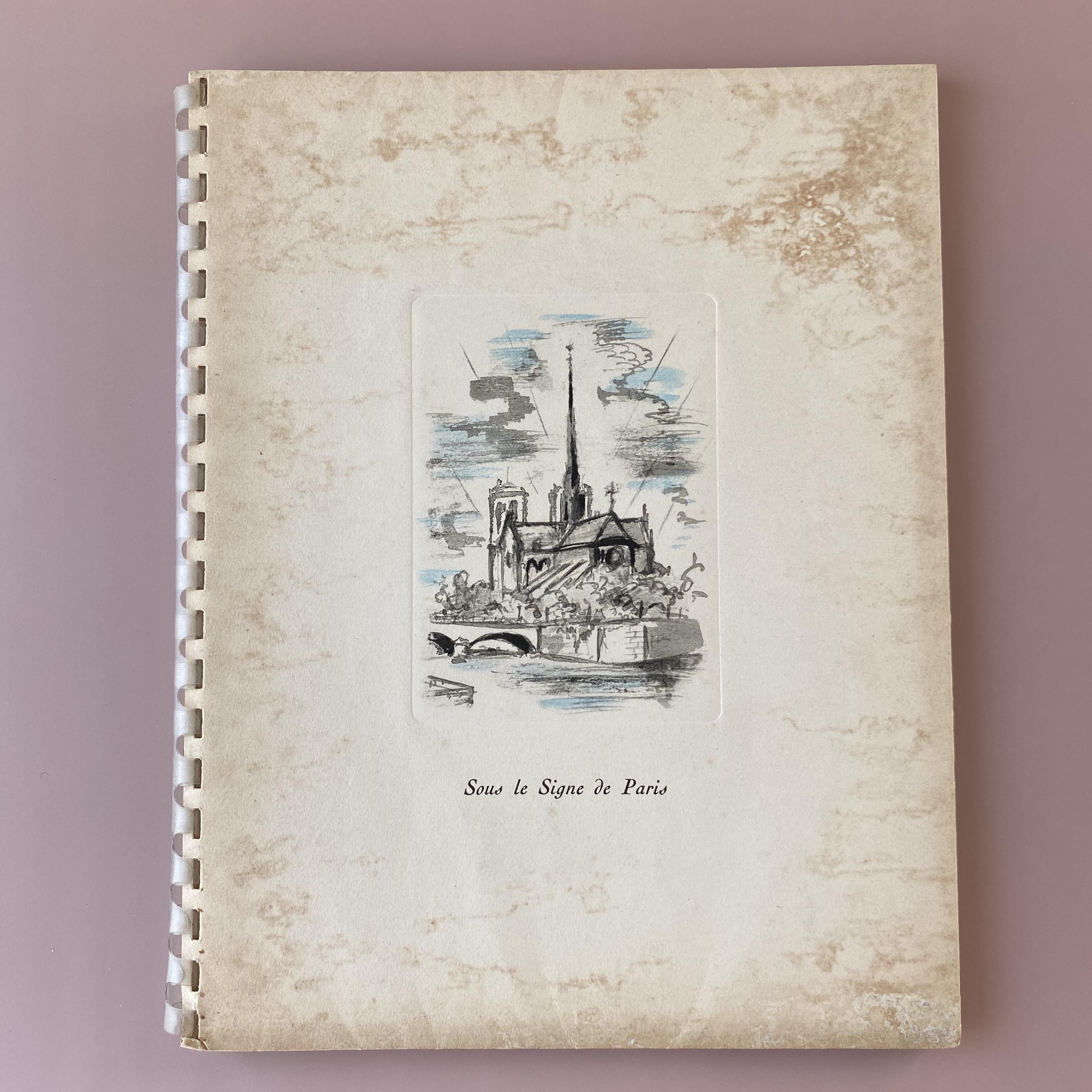 VINS NICOLAS CATALOGUE 1949・André Dignimont  / vp0095