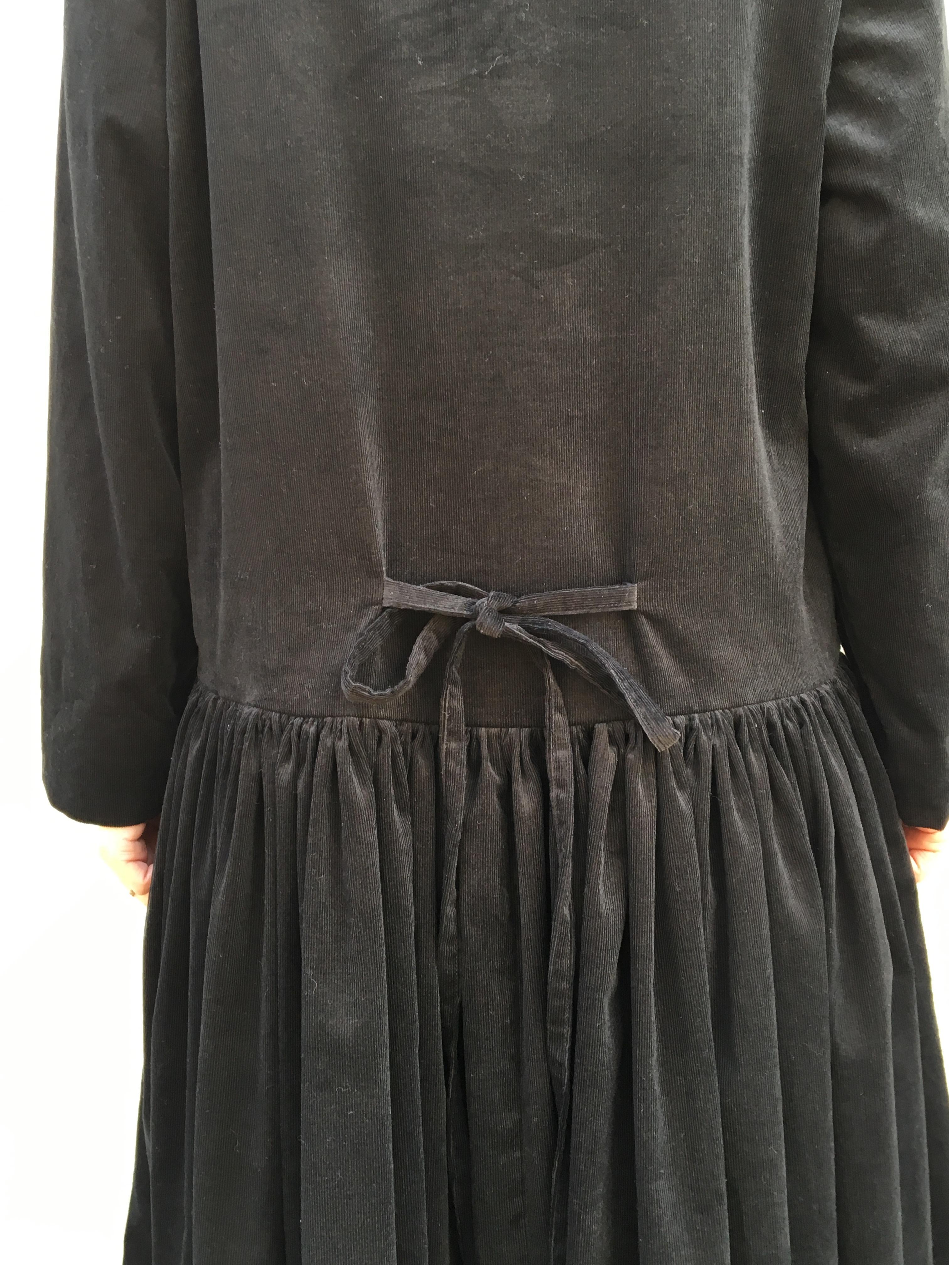 kosatofuku コーデュロイのロングギャザードレス