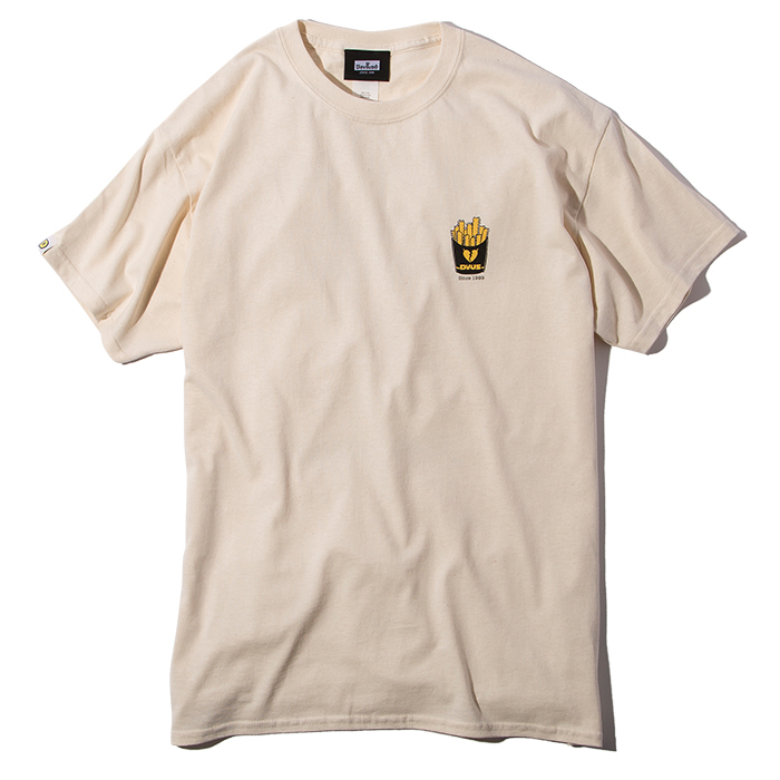 Deviluse(デビルユース) | Fries T-shirts(Natural)