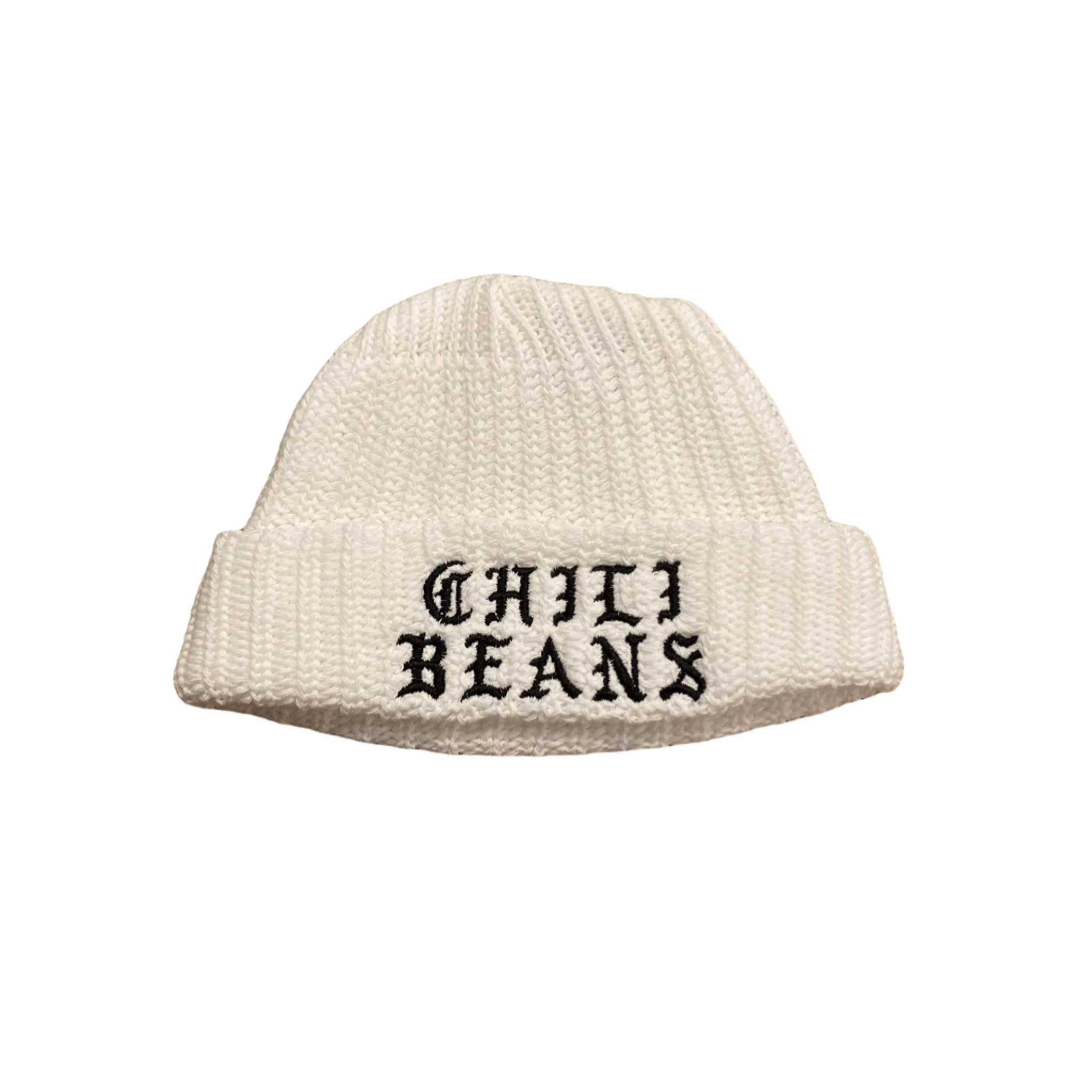 CHILI BEANS #Casual Watch Cap White