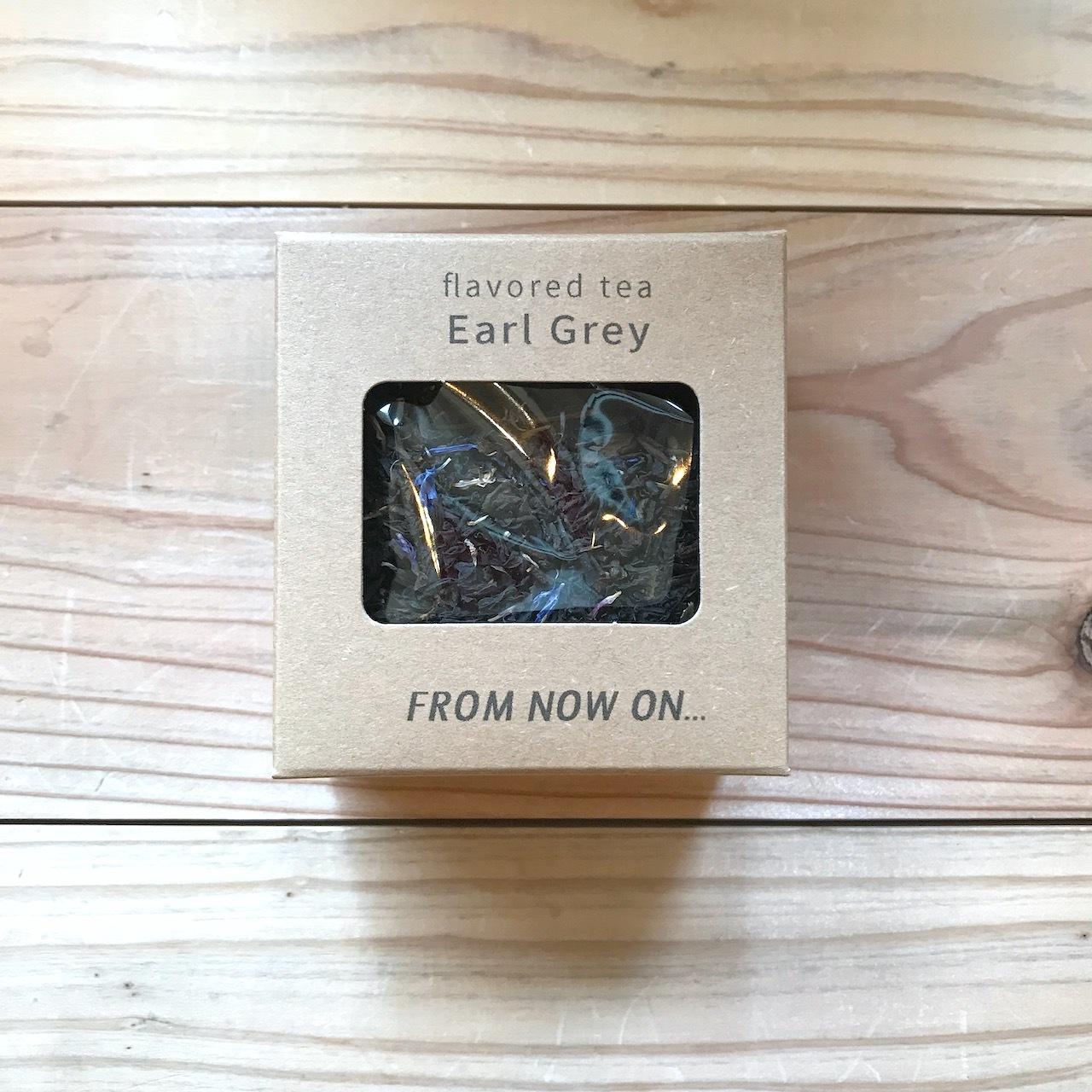 """【今だけ送料無料】"""" FNO Earl Grey flavored tea / アールグレー フレーバーティー カートンS 15g """""""