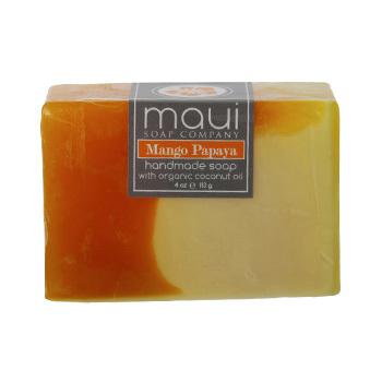 ハンドメイドソープ マンゴーパパイヤ Maui Soap Company