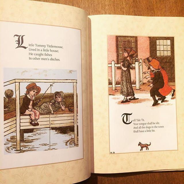 ケイト・グリーナウェイのマザーグース絵本「Nursery Rhymes/Kate Greenaway」 - 画像2