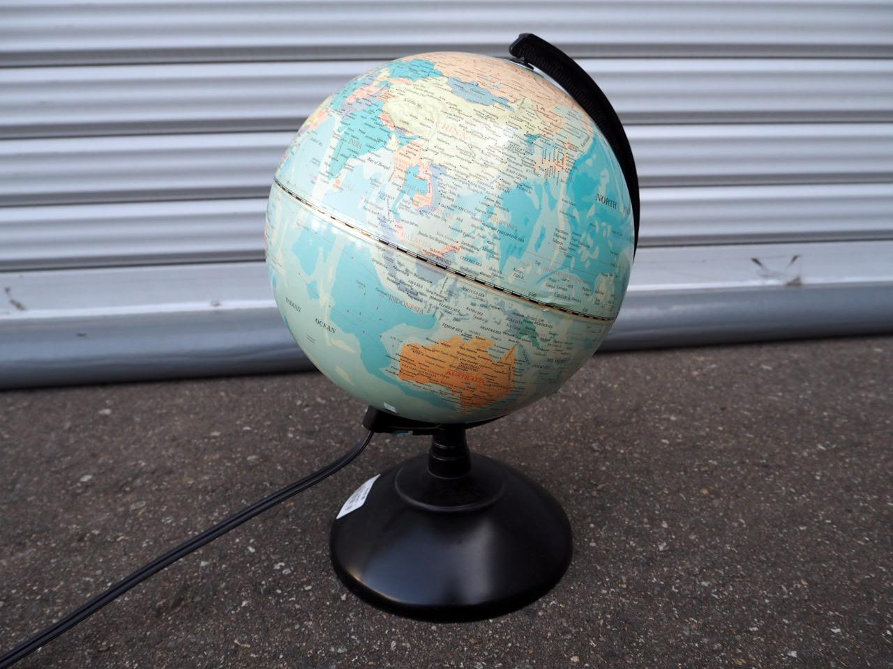 品番2374 ライト 地球儀 LISTED PORTBLE LAMP ヴィンテージ 1983's 011