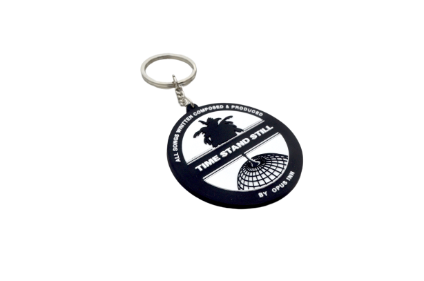 Time Stand Still RUBBER KEY RING