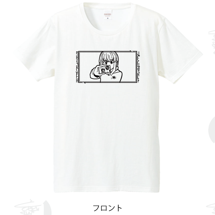 【HNN × Prefabric】Selfie Girl Tee  【From HNN】 - 画像2