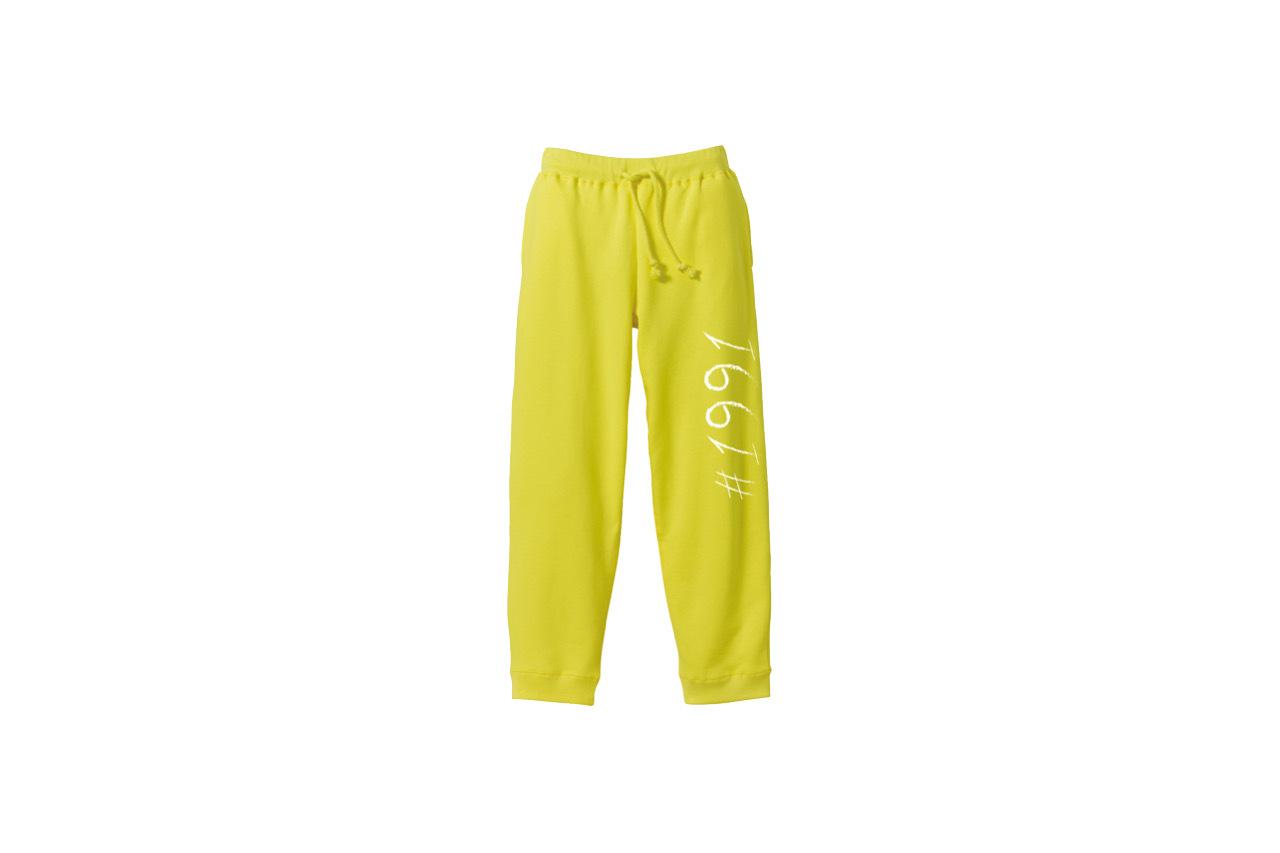 1991 sweat pants (YEL)
