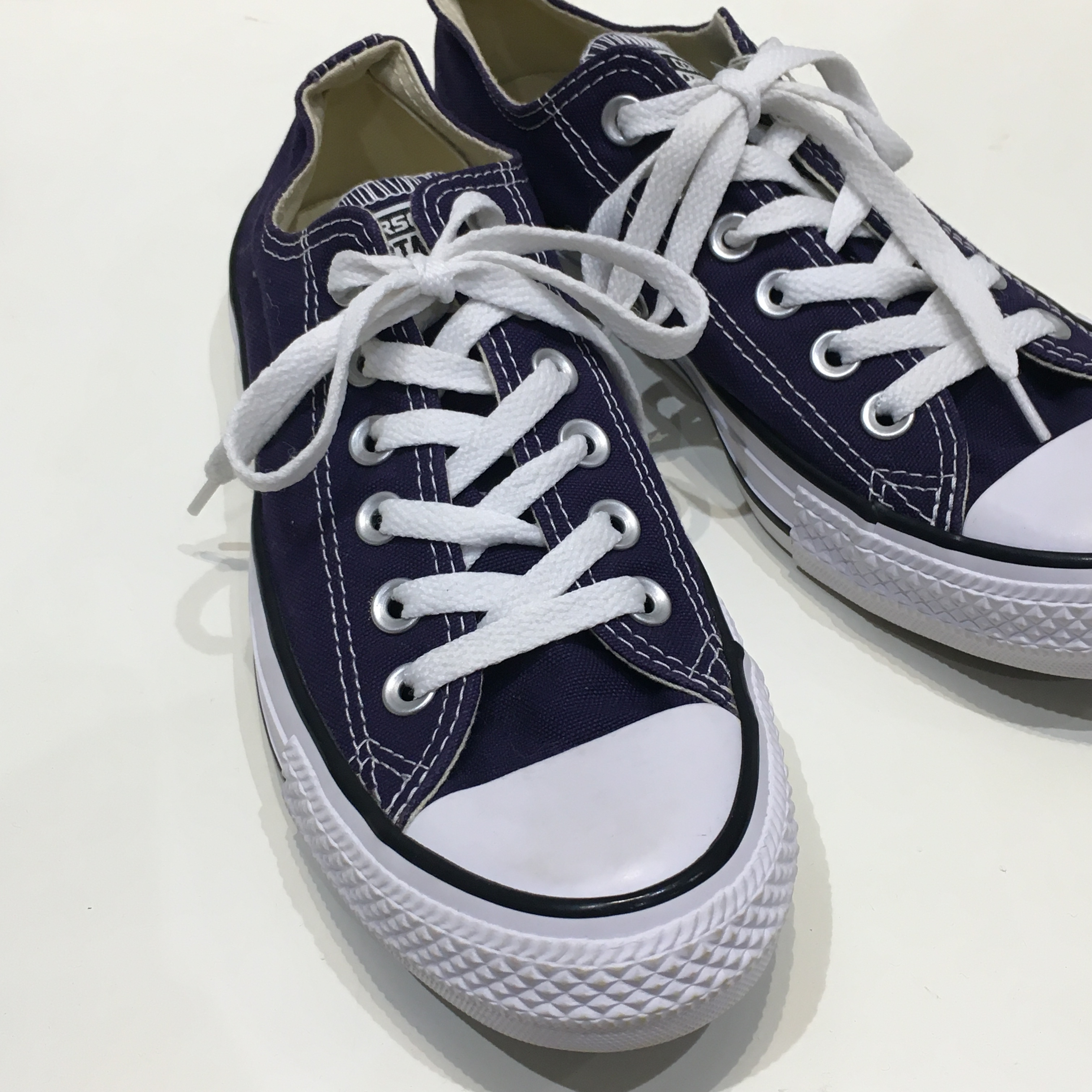 """USED """"  CONVERSE ALL STAR blue OX """""""