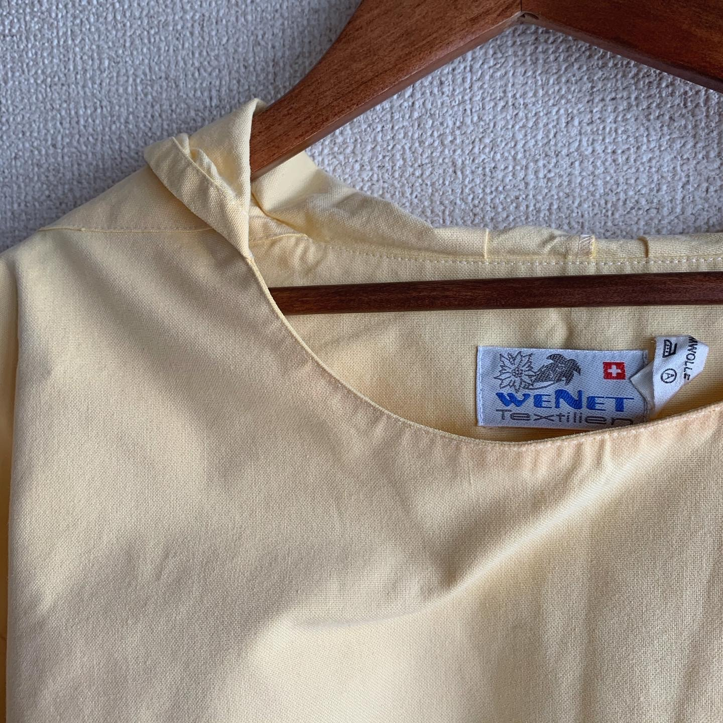 【SALE】vintage Swiss cotton hoodie tops