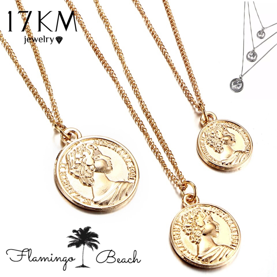 【FlamingoBeach】coin necklace