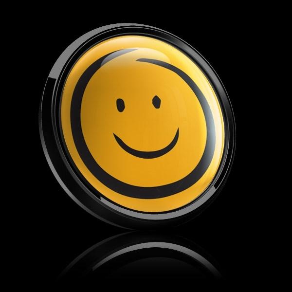 ゴーバッジ(ドーム)(CD1089 - EMOJI SMILE HAND DRAWING) - 画像3