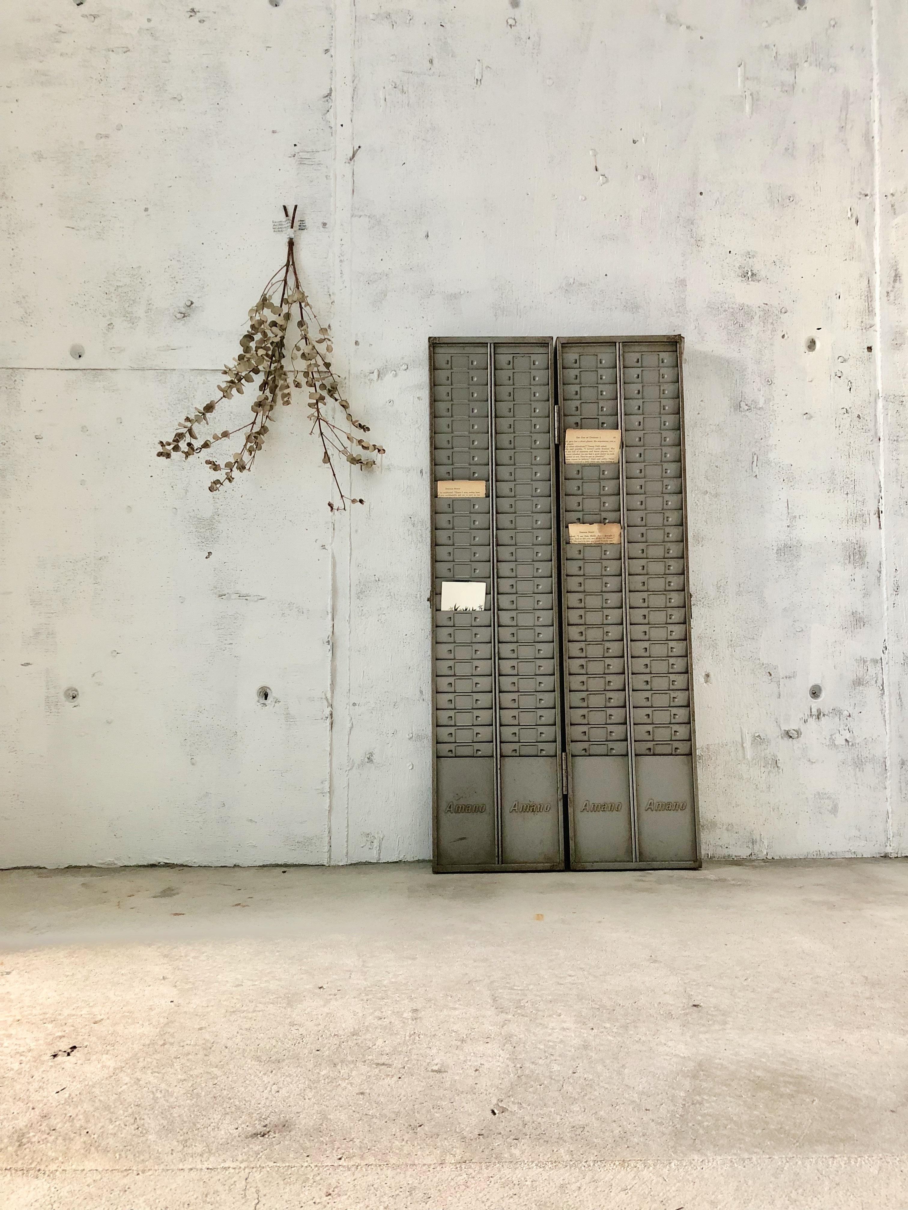 工業系タイムケース[古家具]