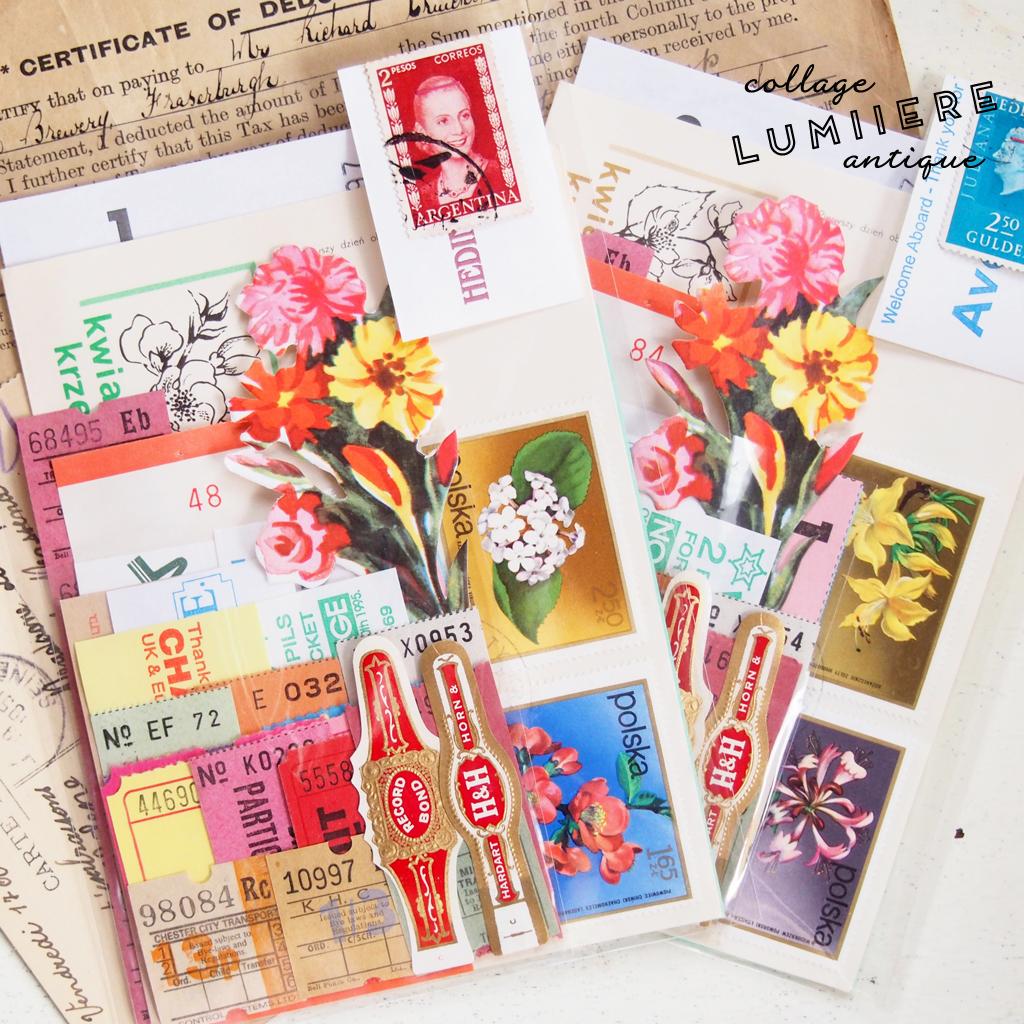 ticket paper set