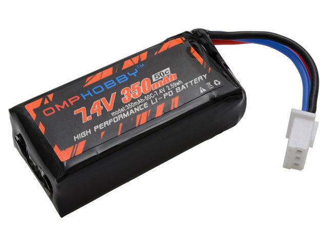 ◆M1リポバッテリー 7.4V350mAh50C OSHM1024  (ネオヘリでM1購入者のみ購入可)