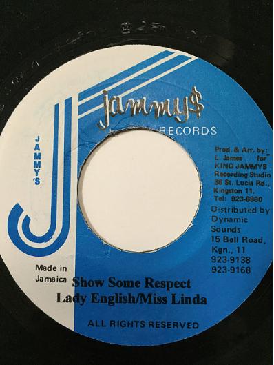 Lady English(レディーイングリッシュ) & Miss Linda(ミスリンダ) - Show some respect 【7'】