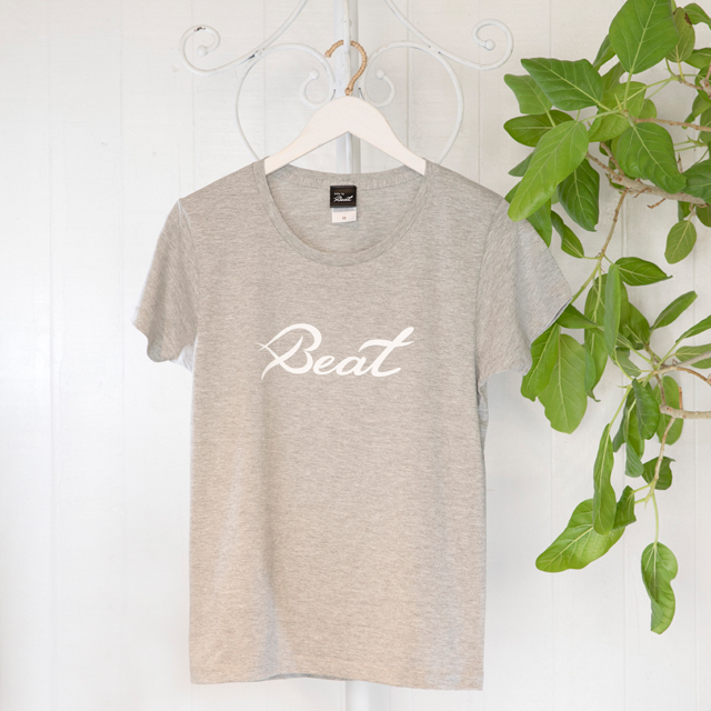 高次元波動Tシャツ Beat グレー