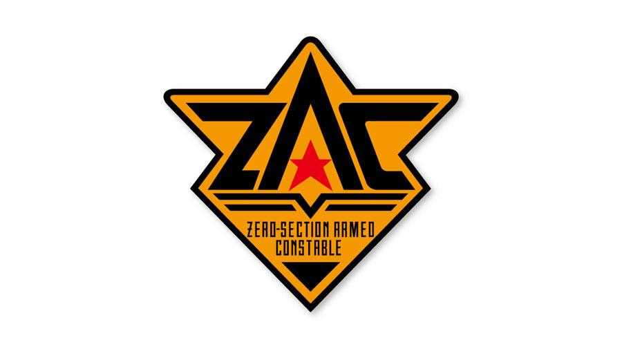 電脳警察サイバーコップ ZACワッペン (着脱式) /  グルーヴガレージ