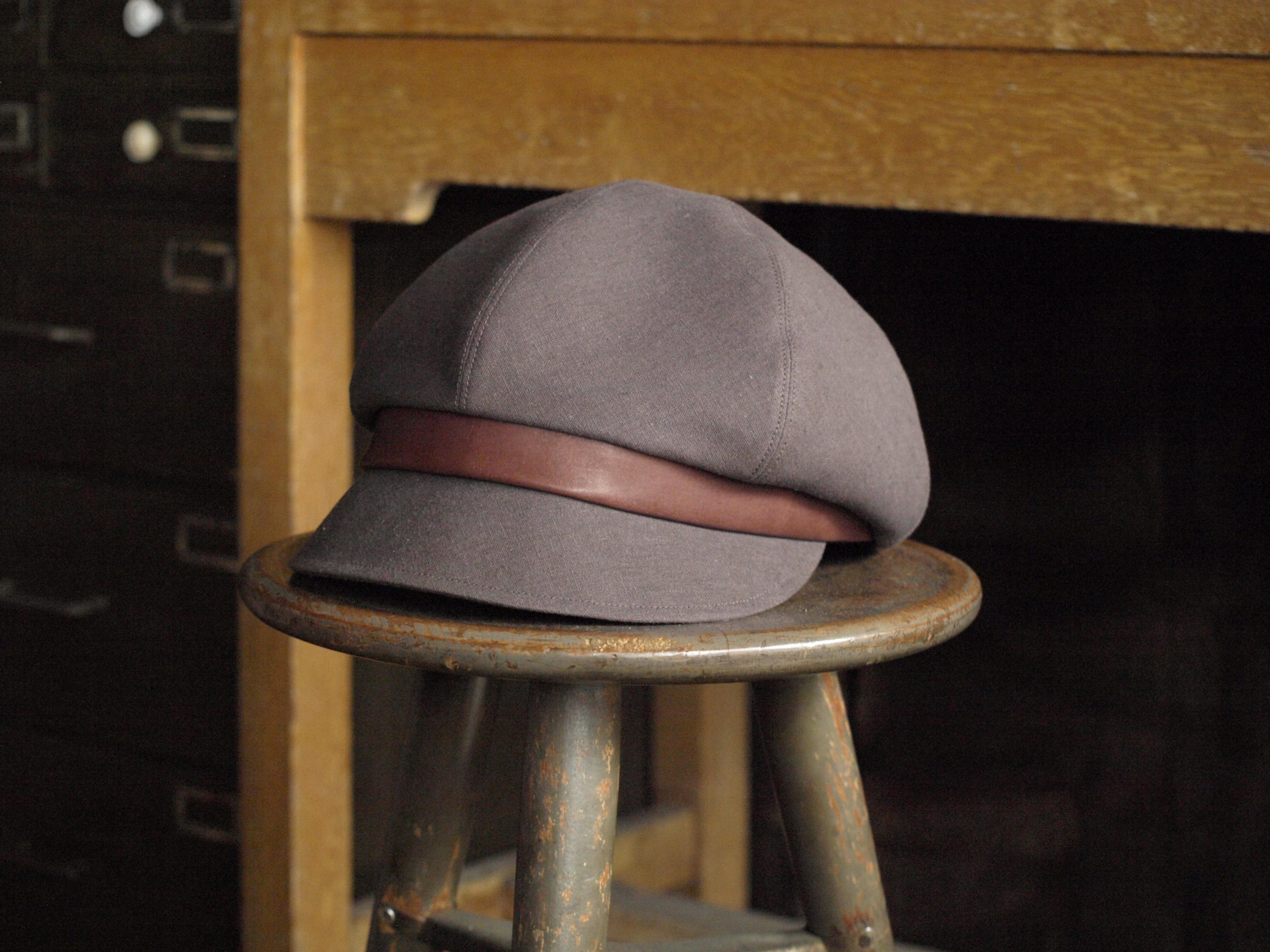 帽子(リネン:ブラウン)