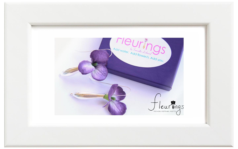 Fleurings/フルーリングス シルバーブラッシュイヤリング