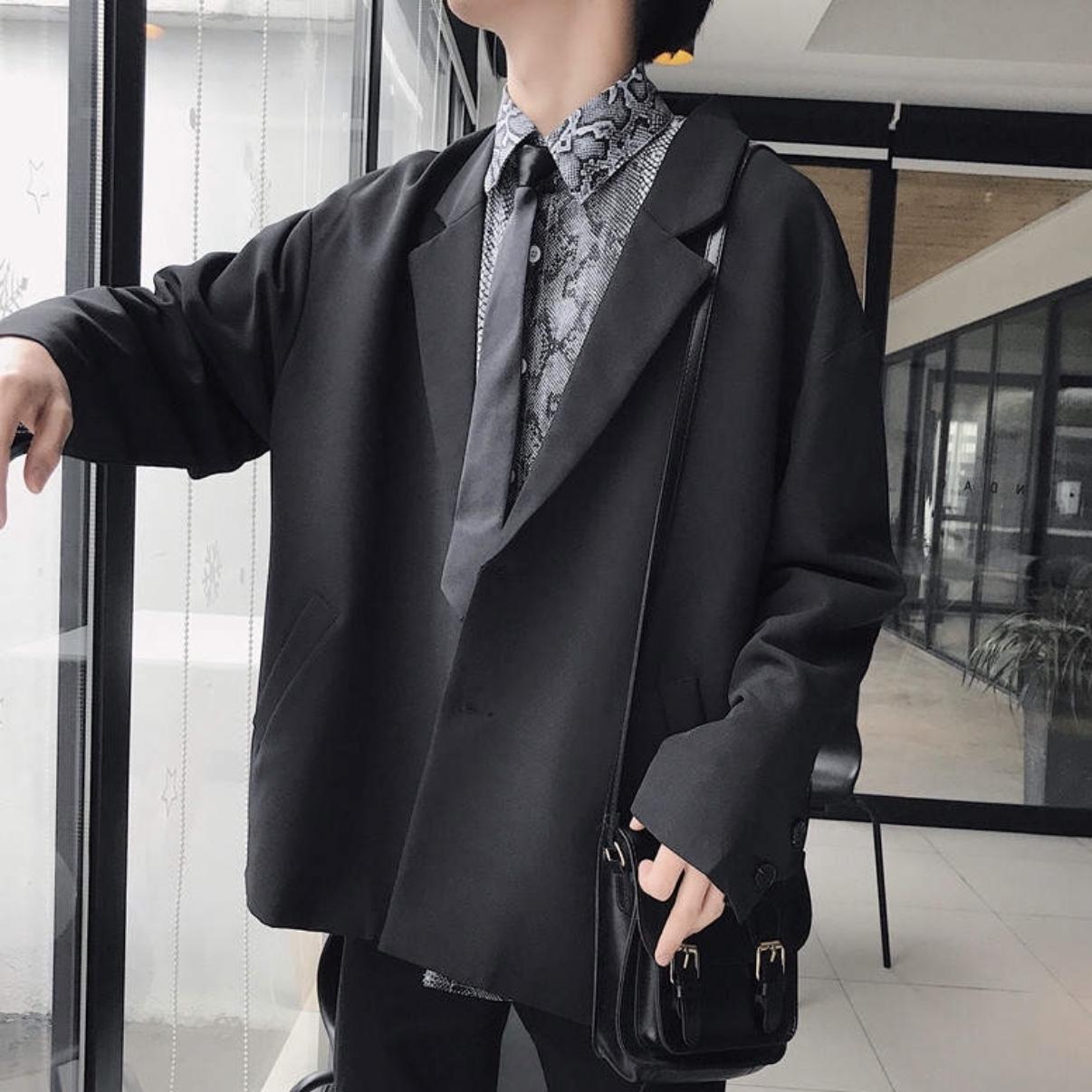 秋物 カジュアルレトロスーツ風ジャケット 韓国風