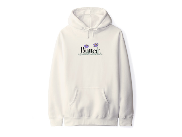 BUTTERGOODS|Flowers Classic Logo Pullover
