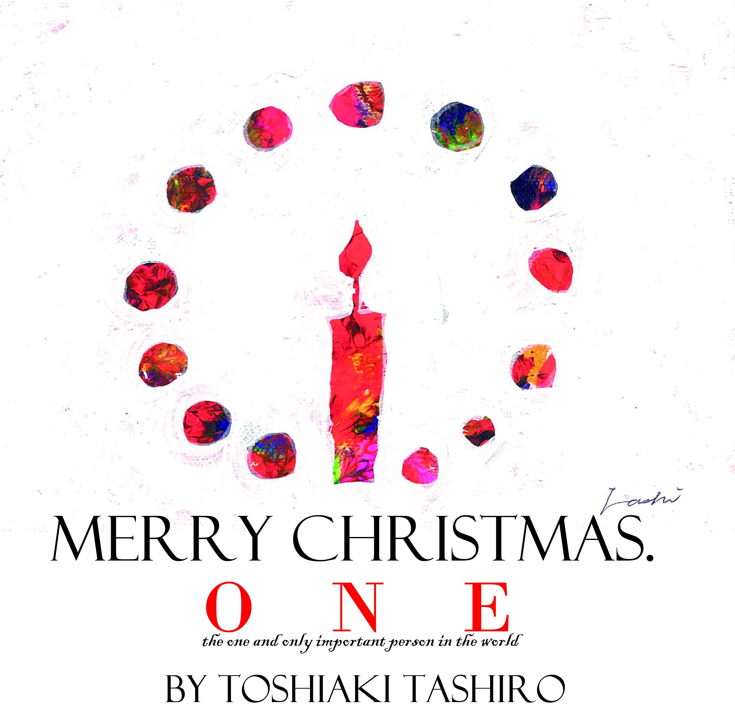 【予約商品】【10部限定】【特別価格】【原画】クリスマスギフト原画「ONE」
