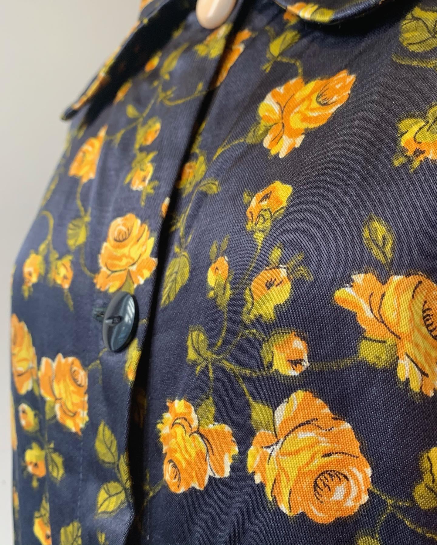 vintage flower design outer