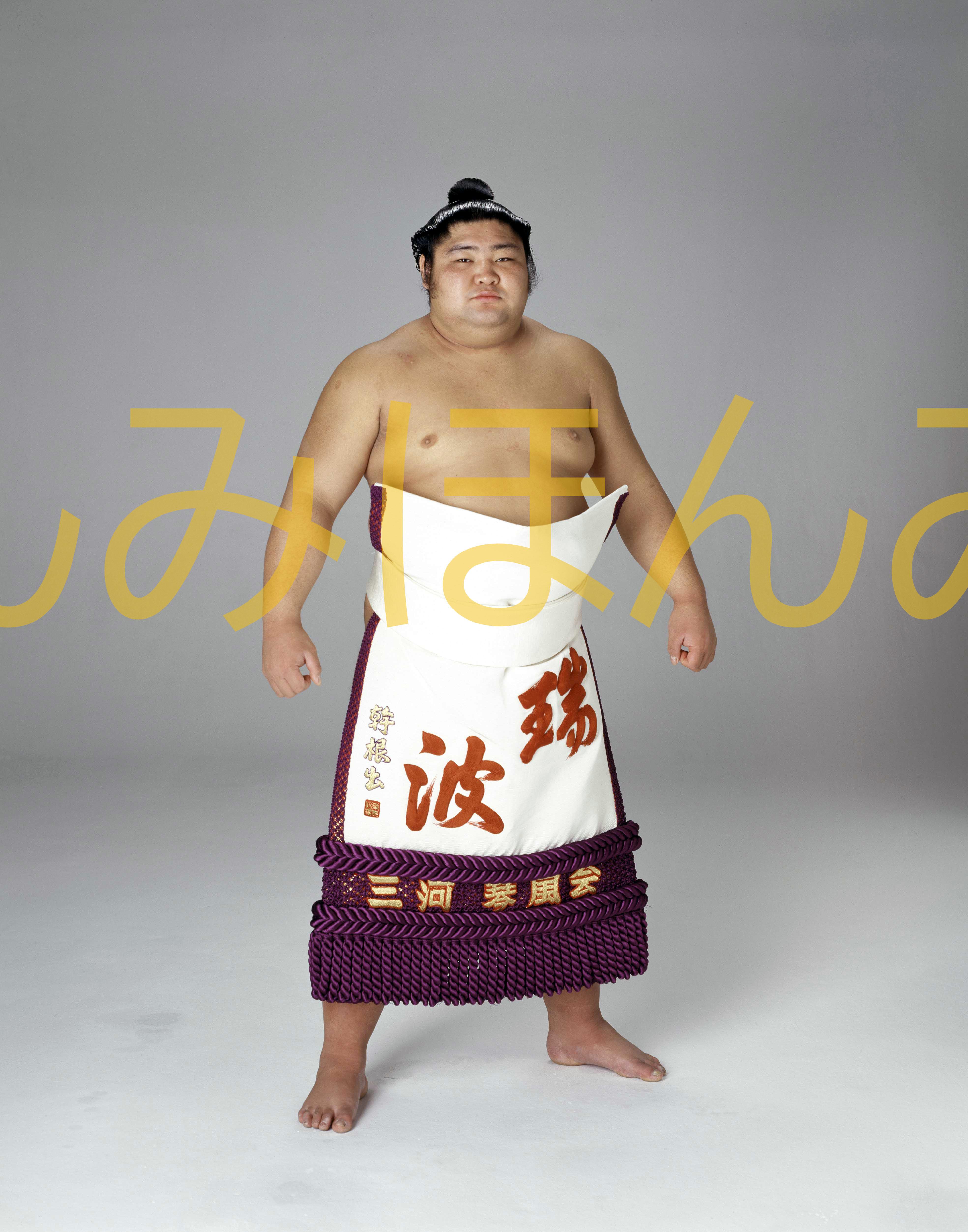 昭和58年1月場所優勝 大関 琴風豪規関(2回目の優勝)