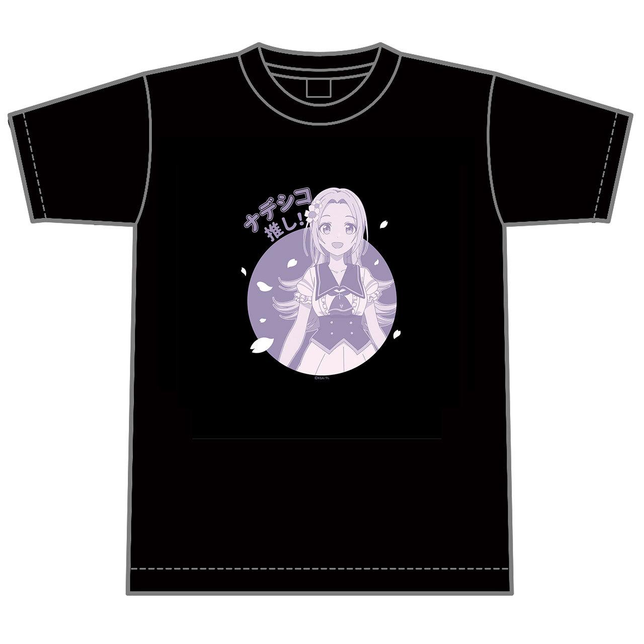 【4589839354981予】ラピスリライツ ナデシコ 推しTシャツ/Lサイズ