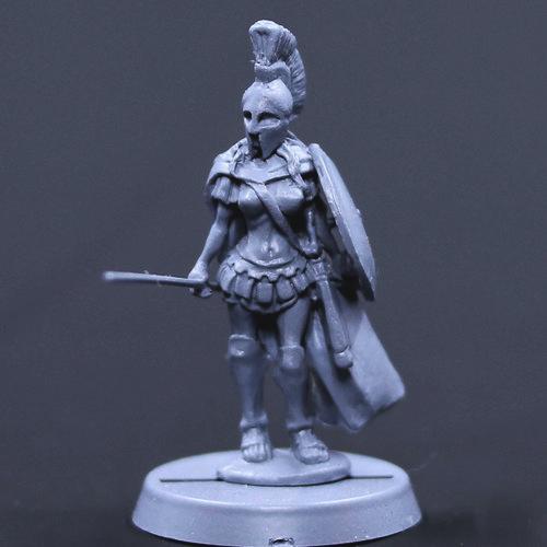 連邦の女戦士/槍 - 画像2