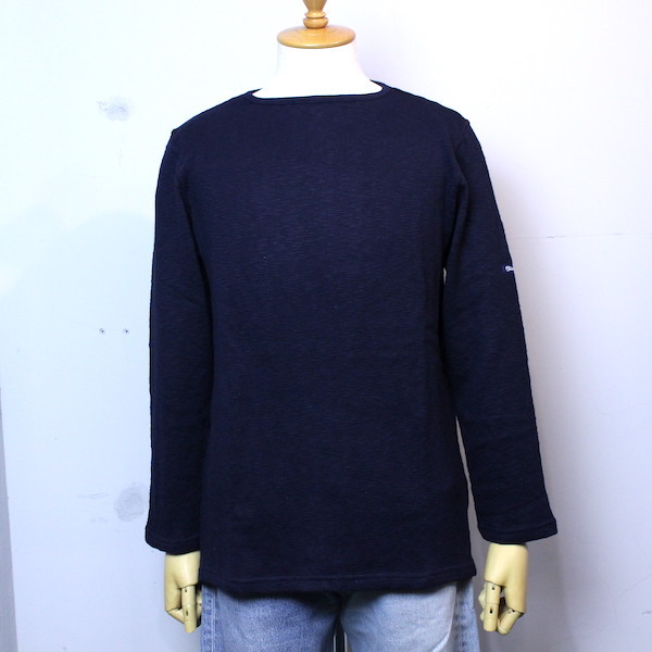 "Tieasy AUTHENTIC CLASSIC(ティージーオーセンティッククラシック) ""Tieasy ORIGINAL BOATNECK SHIRT"" te002 D.NAVY(ダークネイビー)"