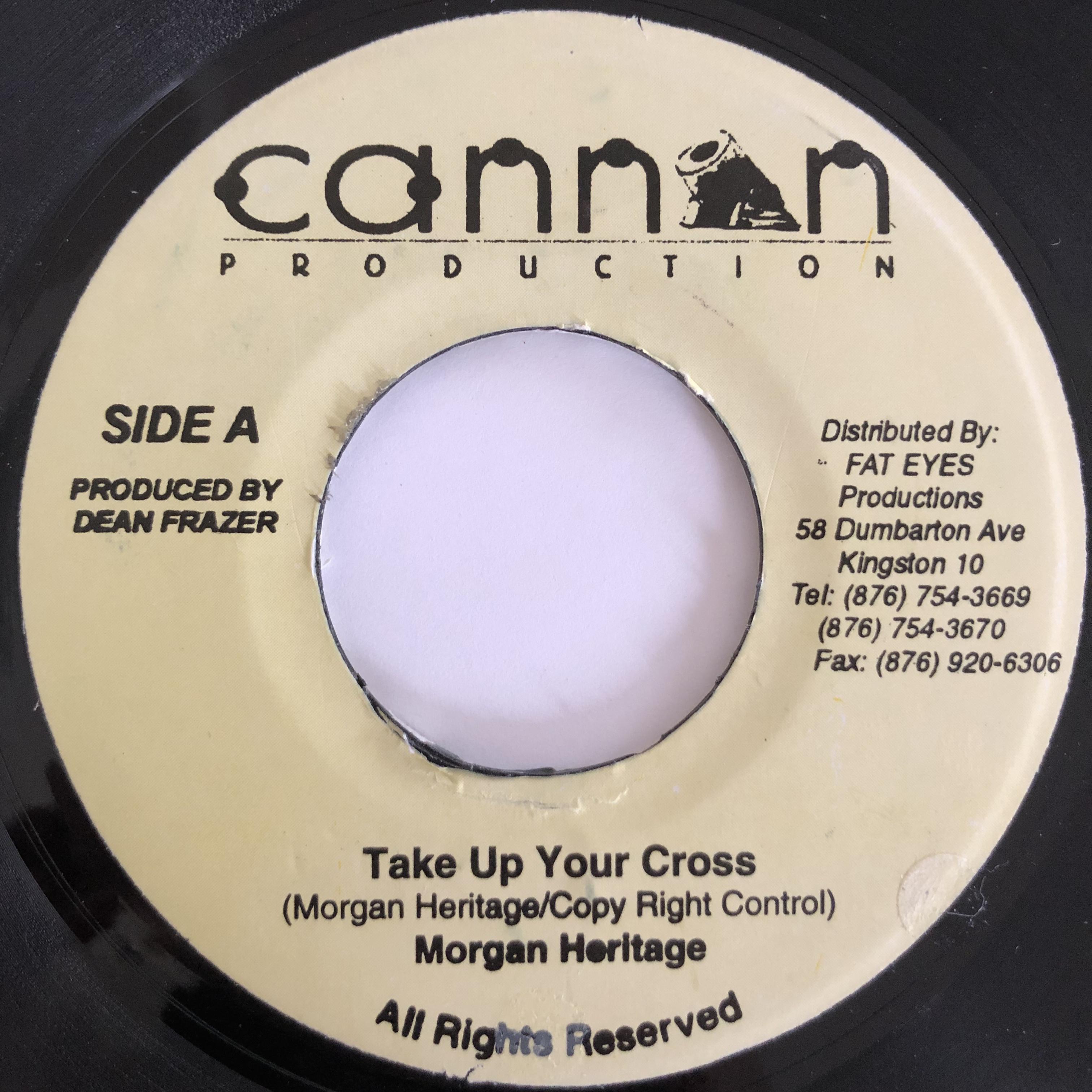 Morgan Heritage(モーガンヘリテージ) - Take Up Your Cross【7-20023】