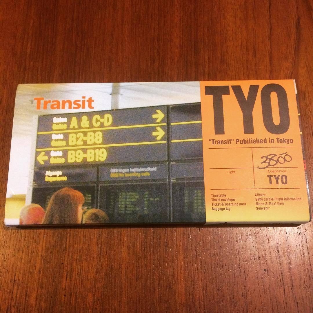 航空会社グラフィックデザイン集「Transit/Glyph.」 柳本浩市 - 画像1