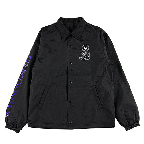 【ROLLING CRADLE | ロリクレ】BUDDY COACH JACKET / Black