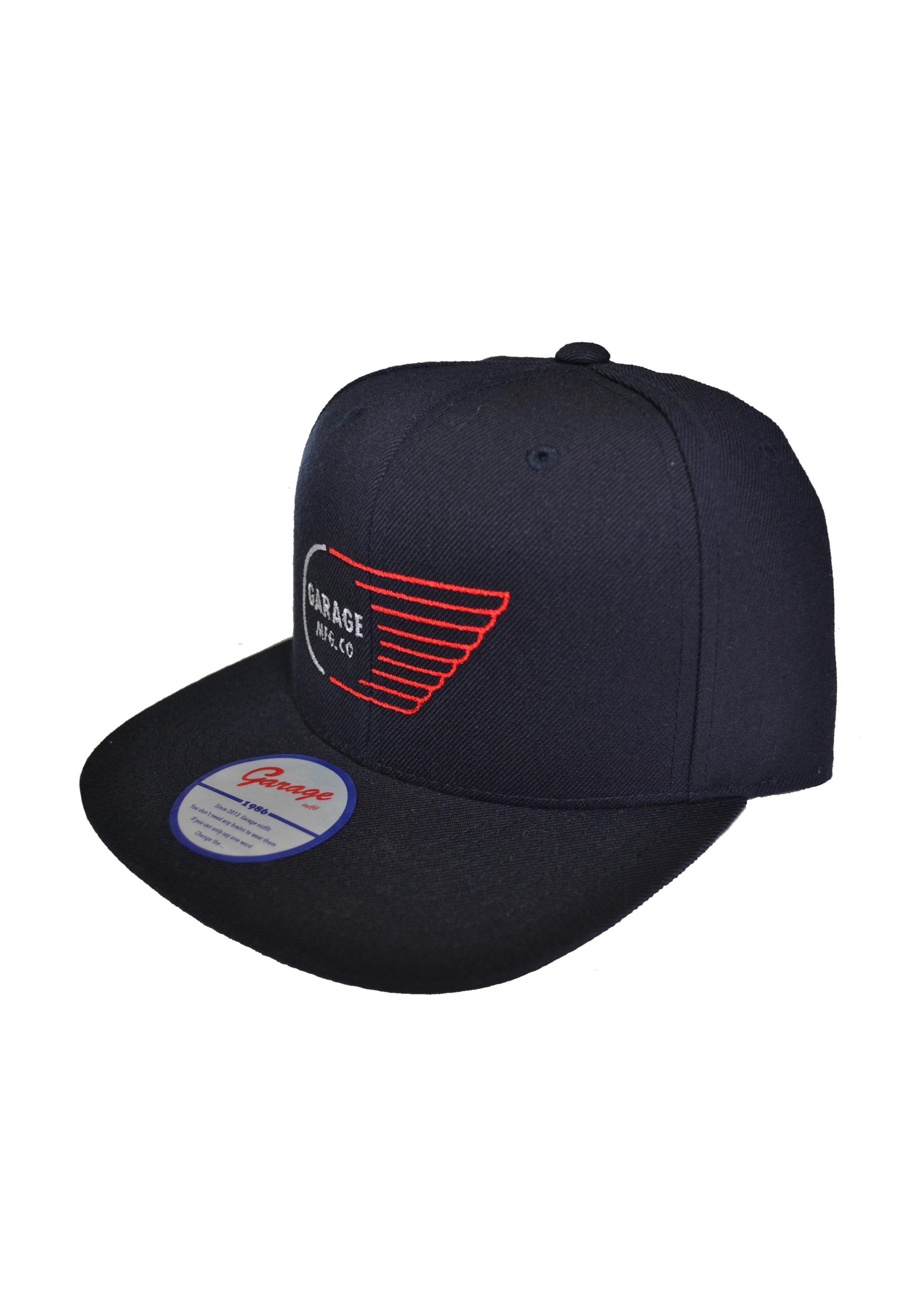 Wing logo cap Navy