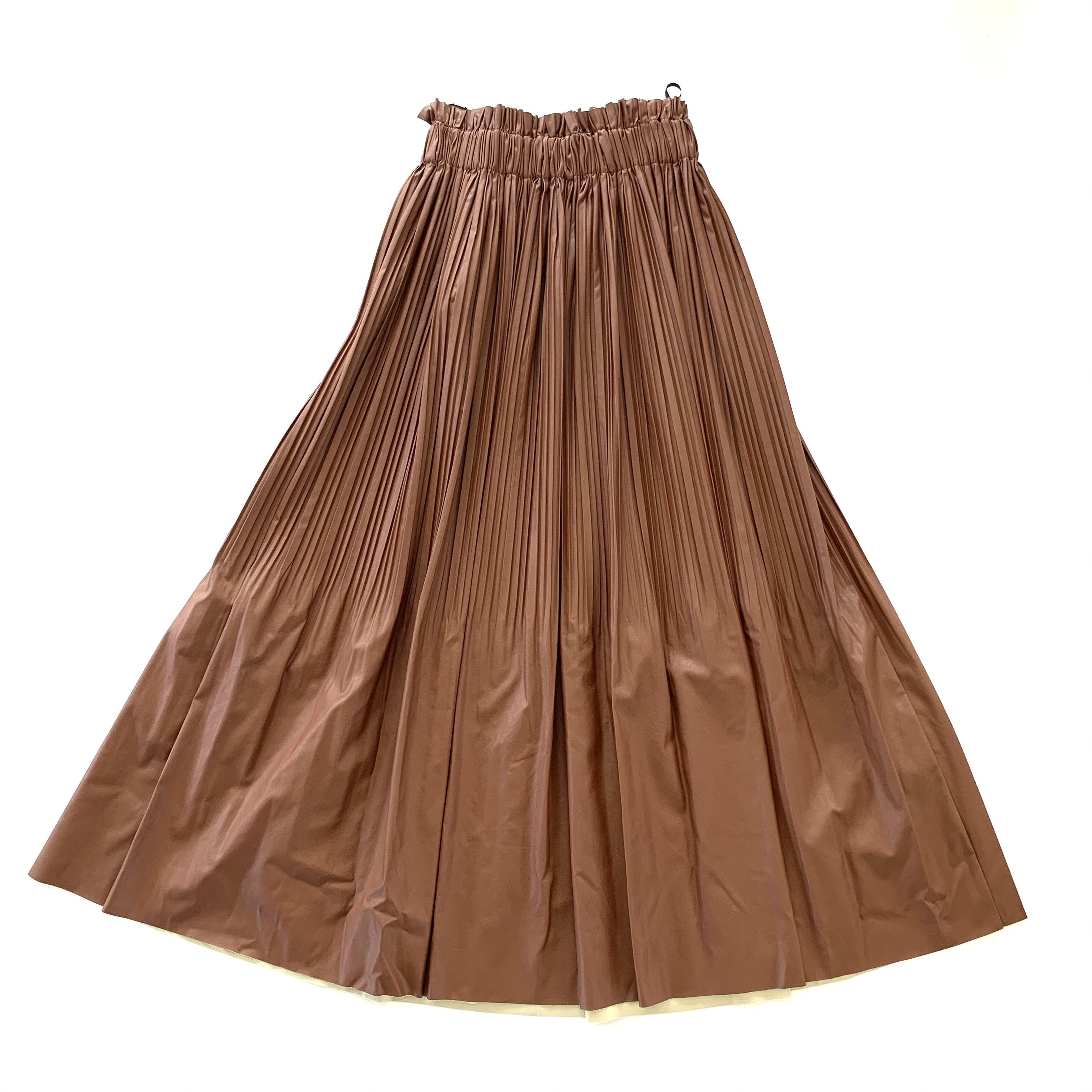Dignite collier  フェイクレザースカート