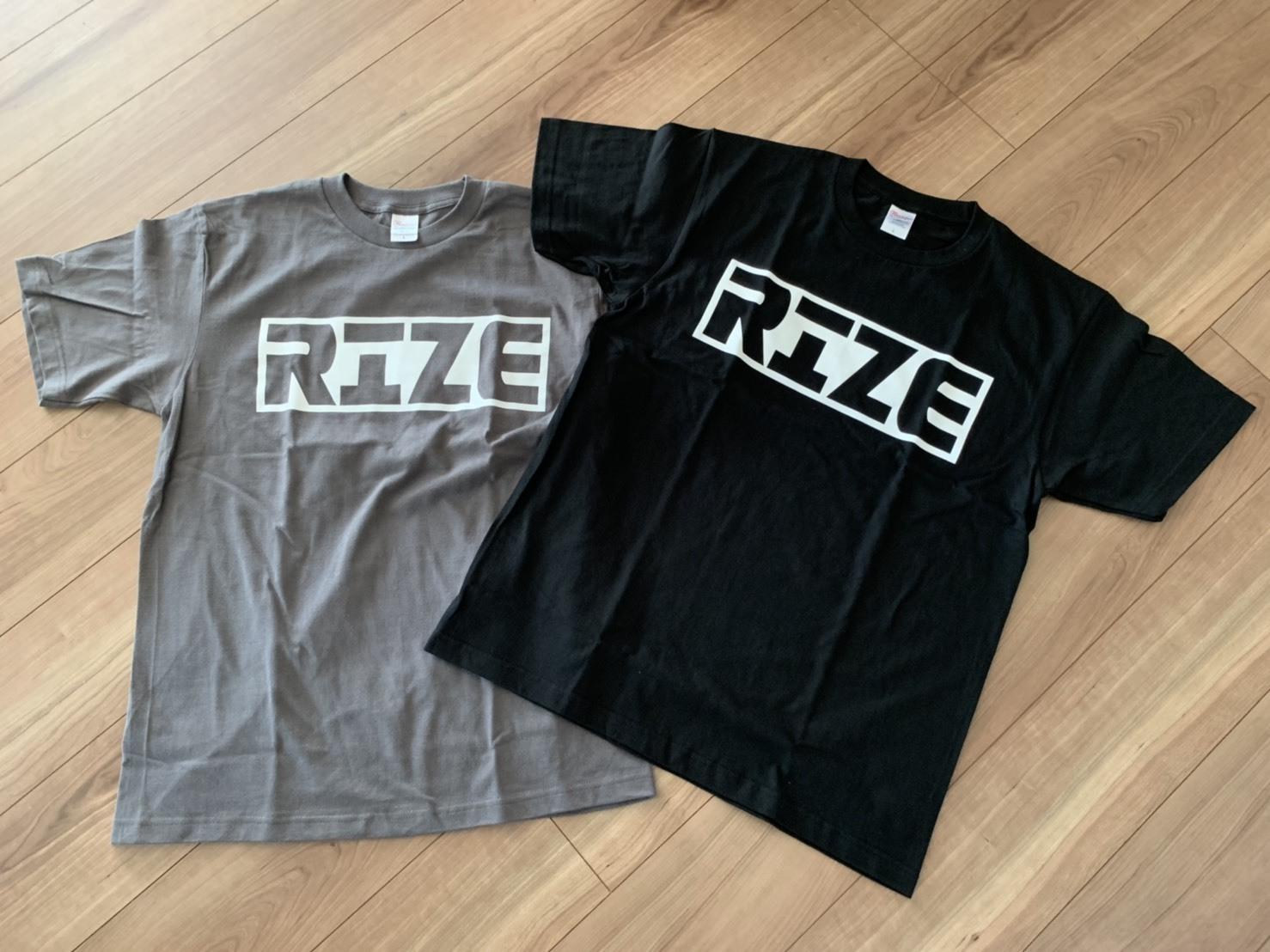 限定 2019年 RIZEJAPAN  オリジナルTシャツ / Original Tshirts 2019 Limited 送料無料