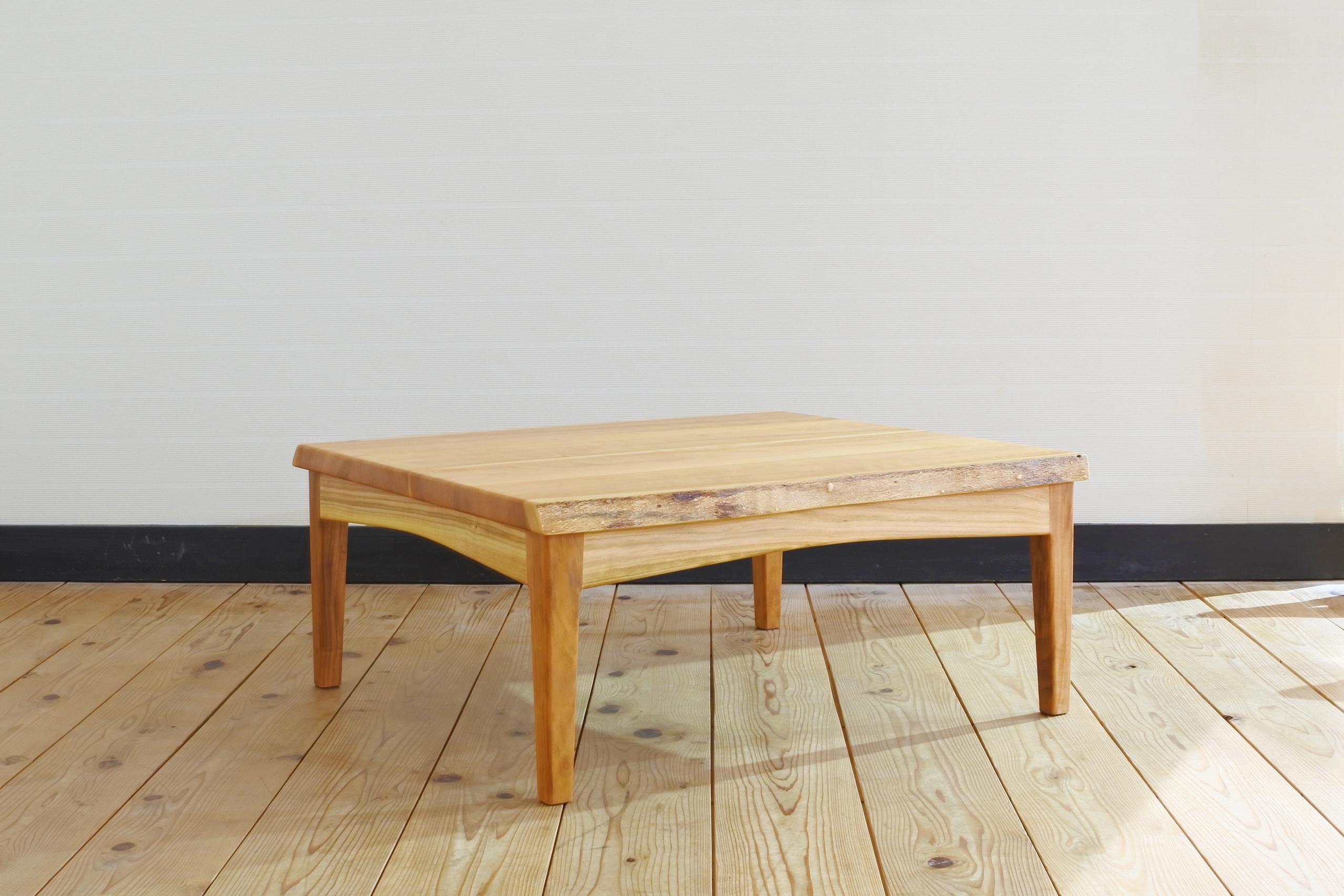 紀州ヤマザクラのこたつテーブル