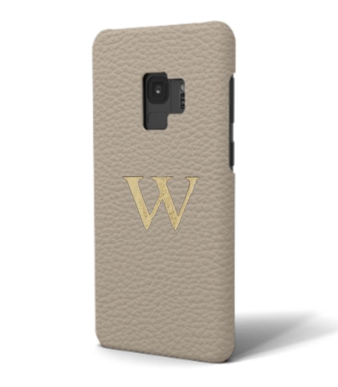 Galaxy Premium Shrink Leather Case (Beige)