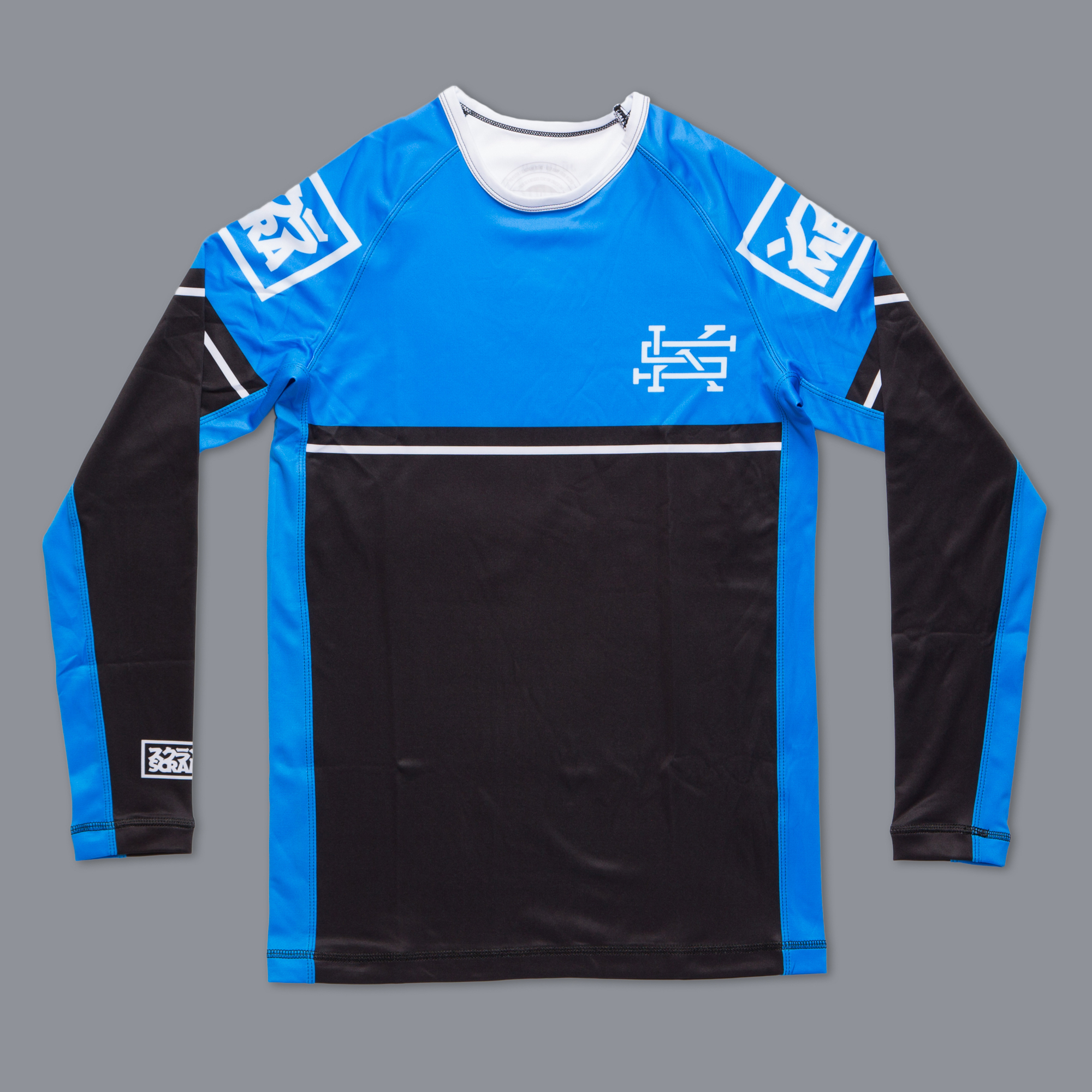 SCRAMBLE RANKED RASHGUARD (V2) –ブルー
