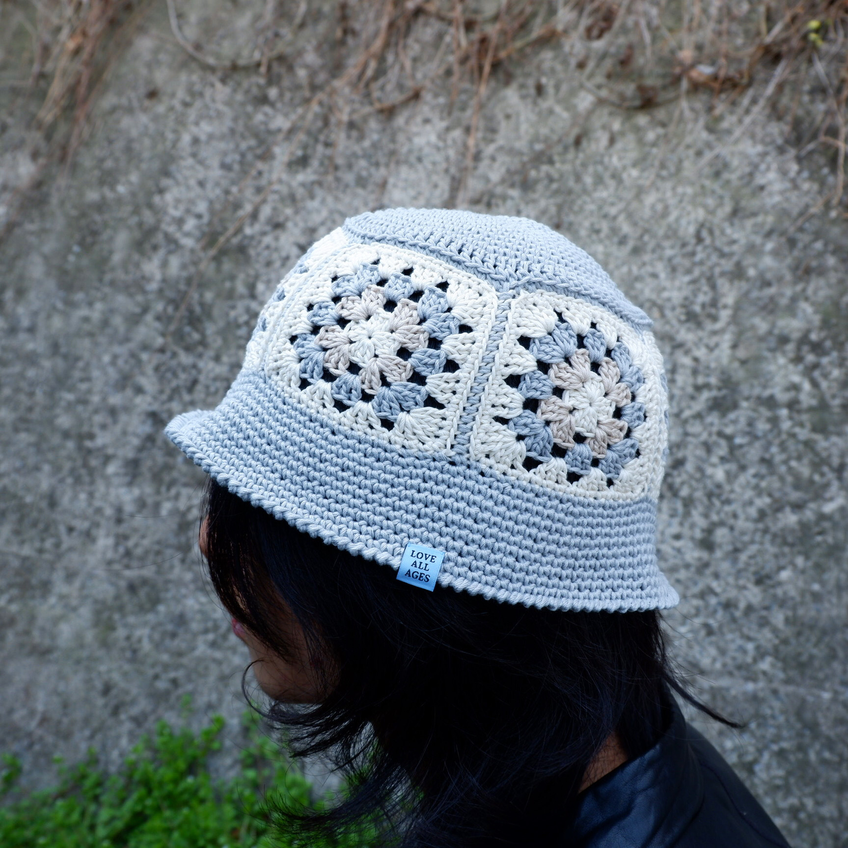 【Antage】Handmade Crochet Hat   C